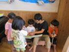 小学生と園児との交流会
